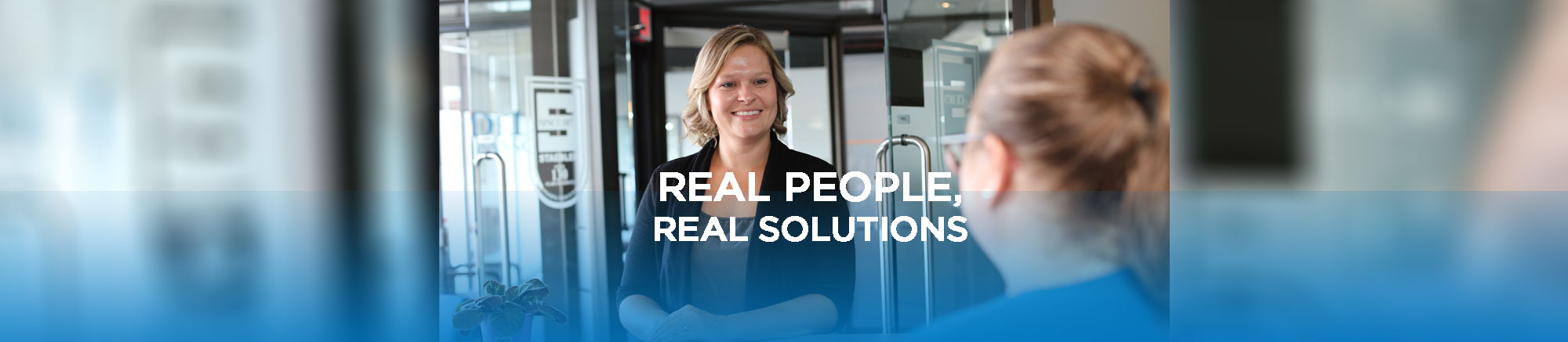 real people, real solutions